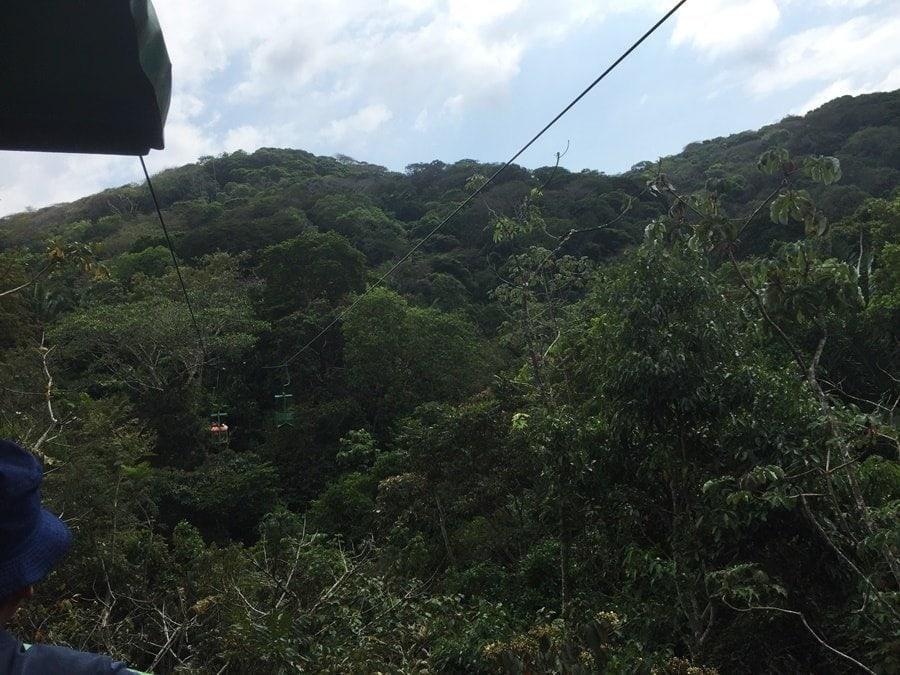 aida kreuzfahrt Reisetaqgebuch: Panama Colon Seilbahn Ausflug