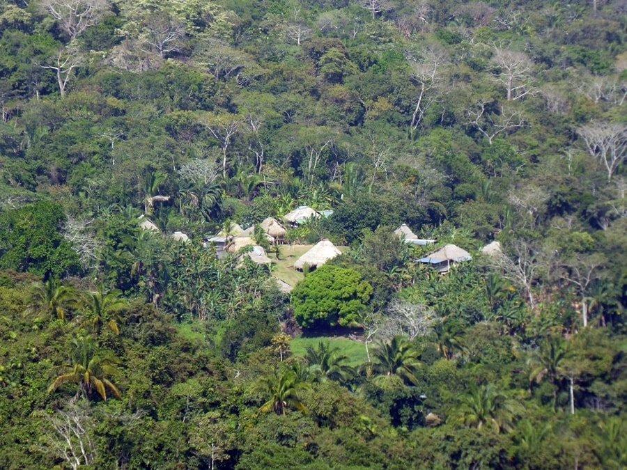 Dorf der Embera-Indianer: Seilbahnausflug in panama