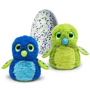 hatchimal draggles blau-grün