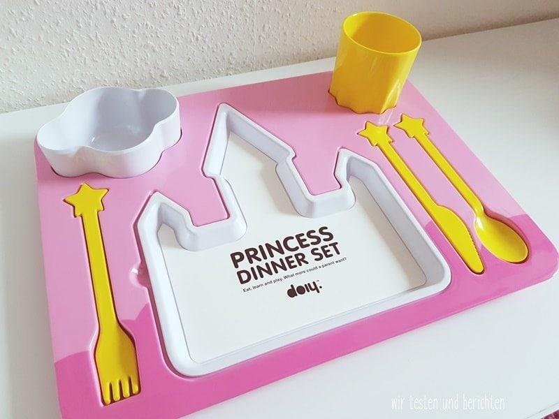 Kindergeschirr Set Melanin Prinzessin 2