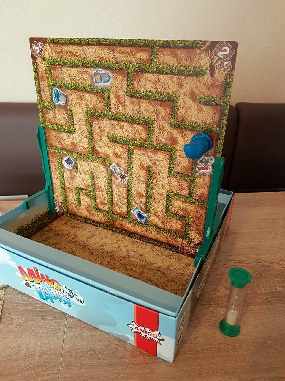 Spieletest Mino & Tauri das Spiel