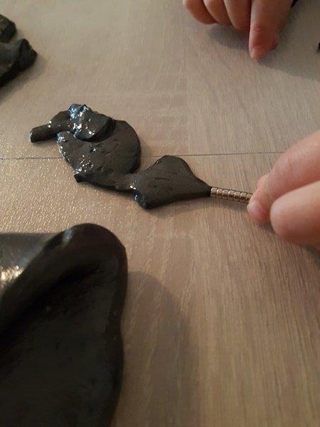 Magnetischen Schleim selber machen OHNE Borax 42