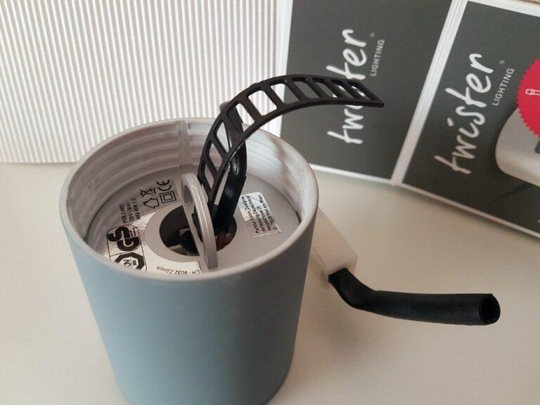 Twister Lighting, die erste Leuchte mit schraubenloser Montage 14