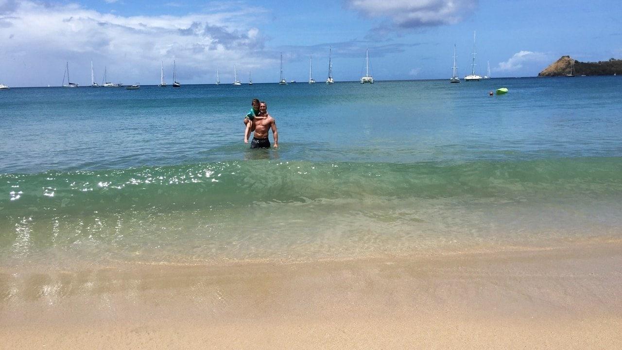Ausflug auf eigene Faust St. Lucia, Rodney Bay