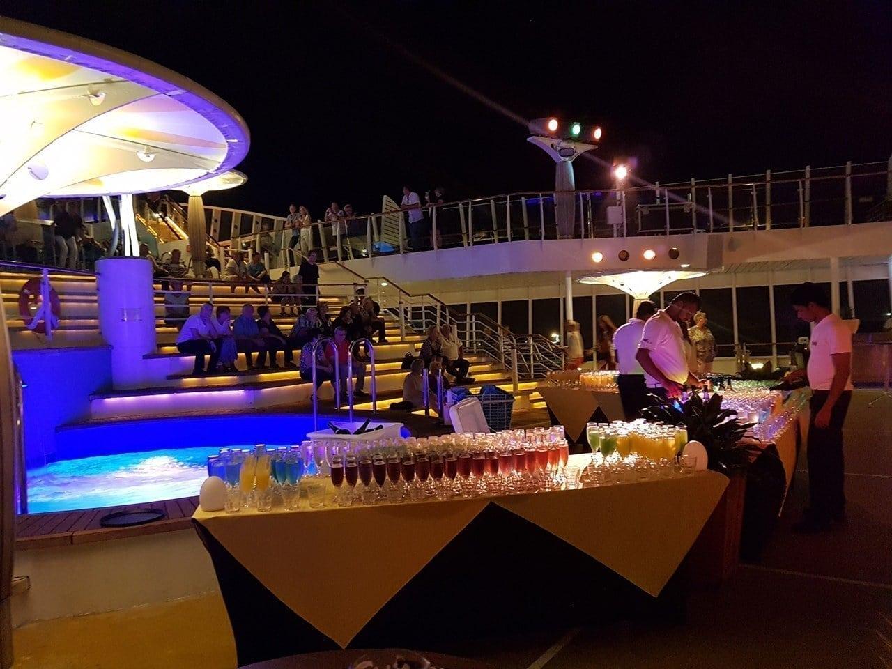 Ankunft in Barbados - Die Transatlantik Kreuzfahrt beginnt 30