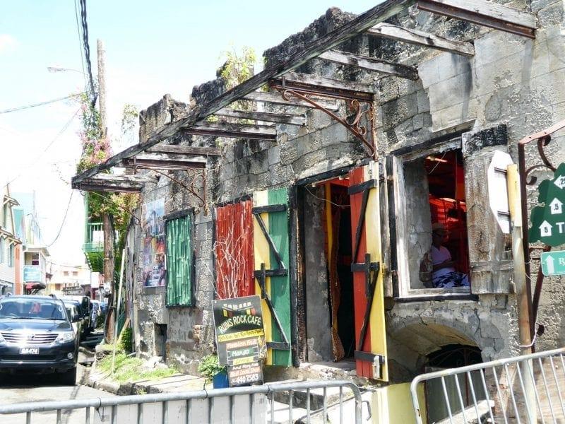 Ruins Rock Cafe, Dominica Roseau
