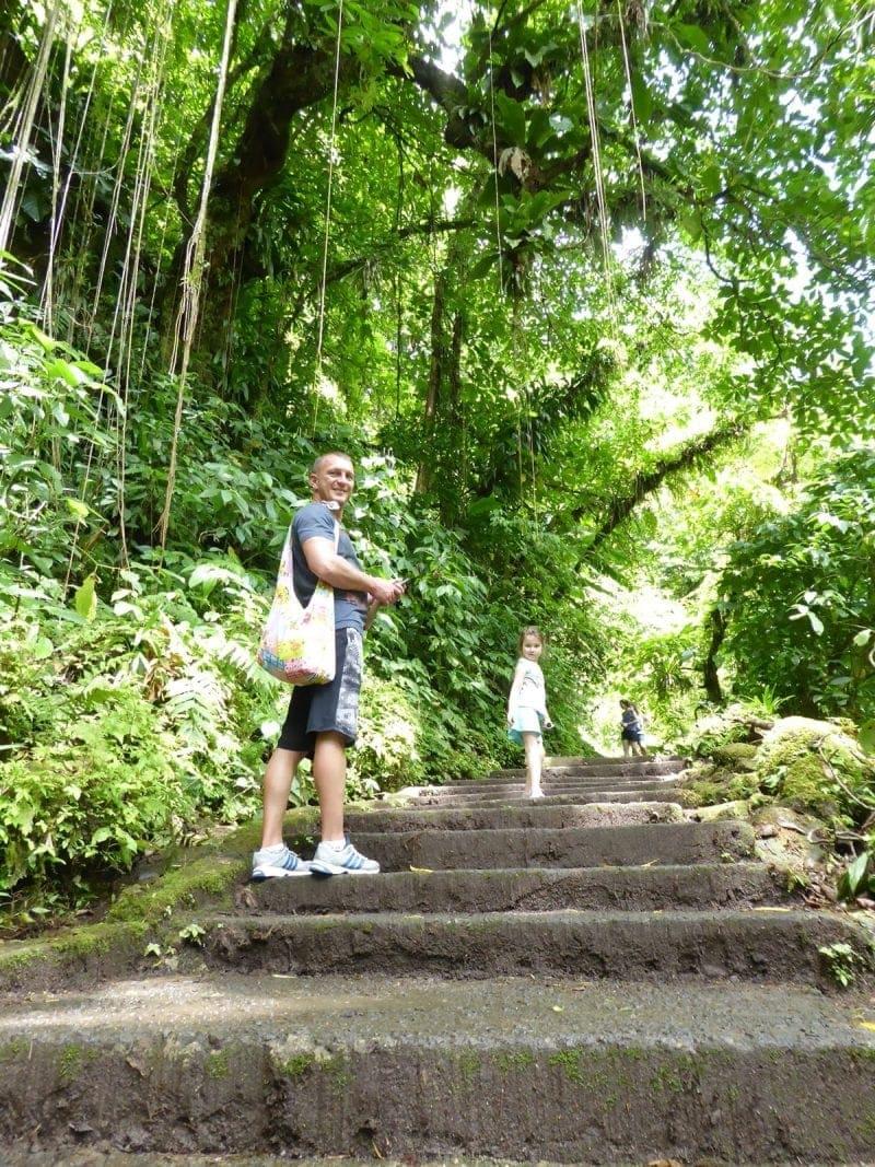 Dominica-Wanderweg-Trafalgar-Falls