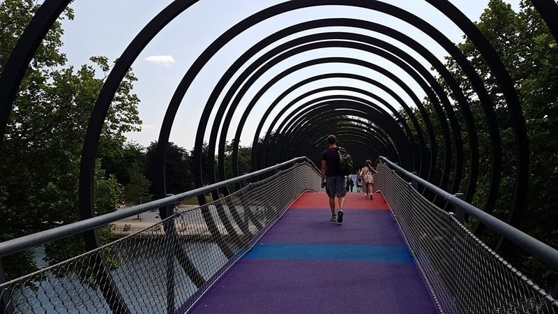Brücke Kaisergarten
