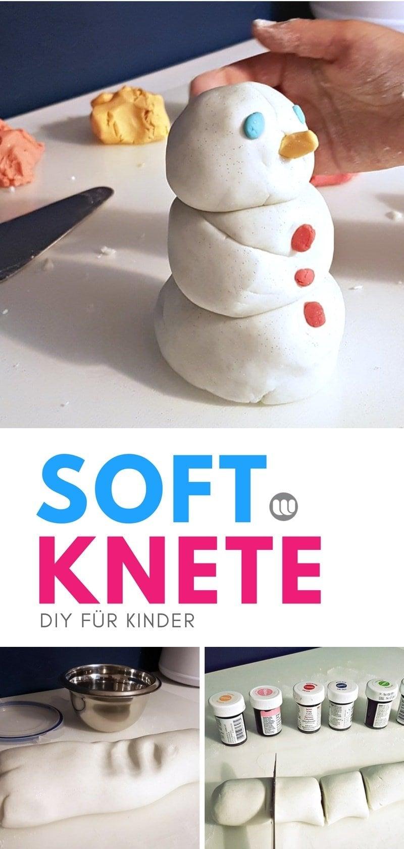 DIY Softknete weiche Knete selber machen Kinder