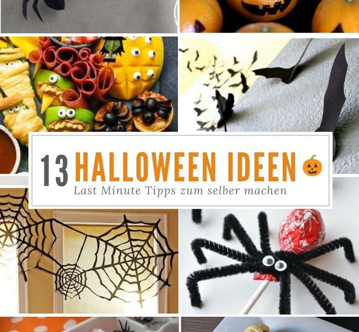Halloween Dekorationen Partysnacks 13 Ideen Fur Kinder