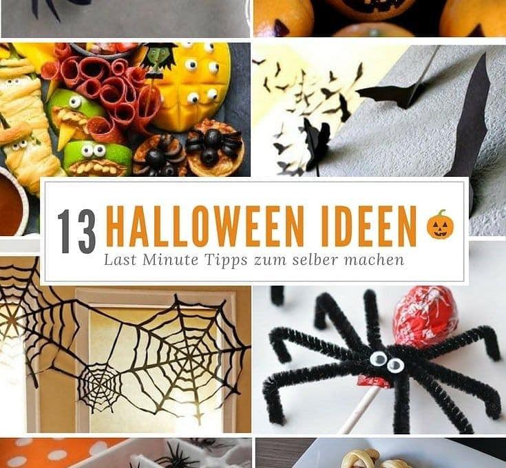 Halloween Dekorationen Partysnacks 13 Ideen Fur Kinder
