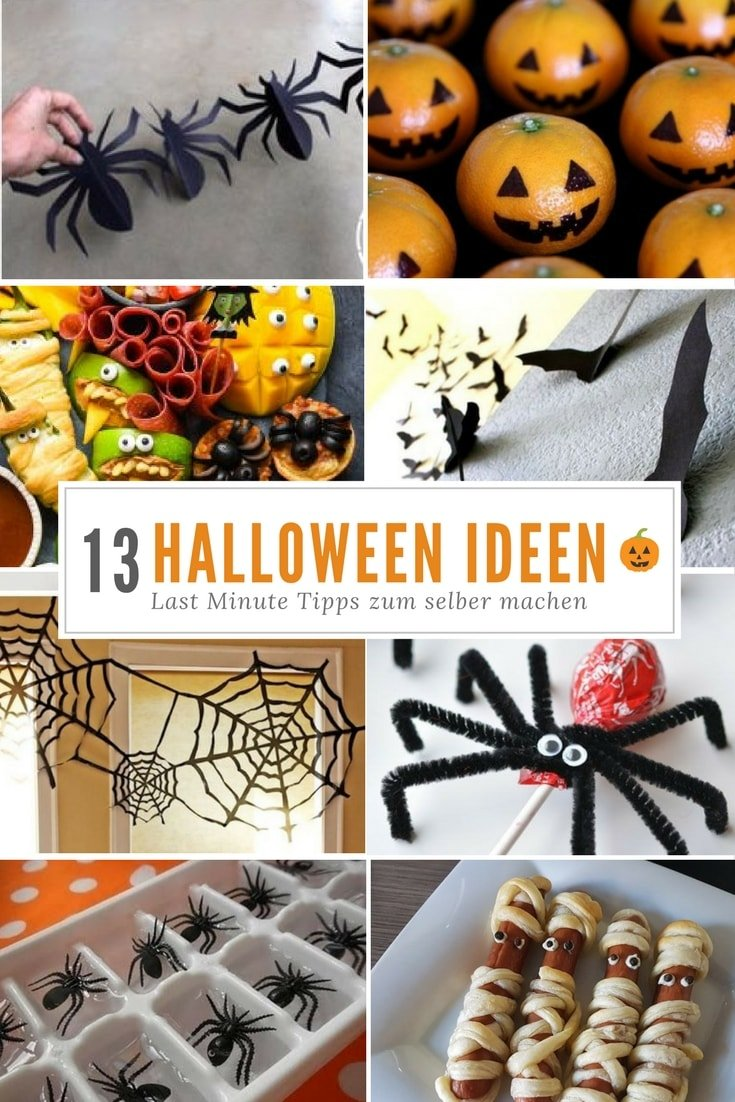 13 einfache halloween dekorationen gruselige kinder partysnacks. Black Bedroom Furniture Sets. Home Design Ideas