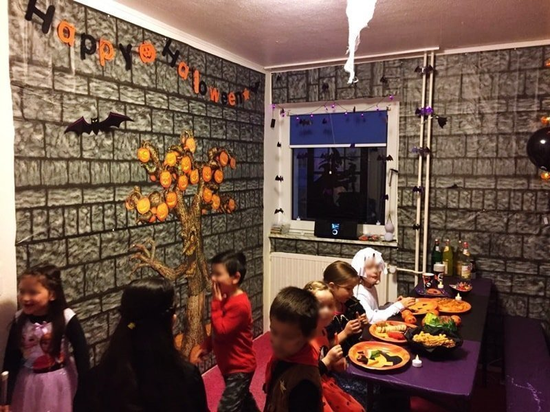 Halloween Kinderparty