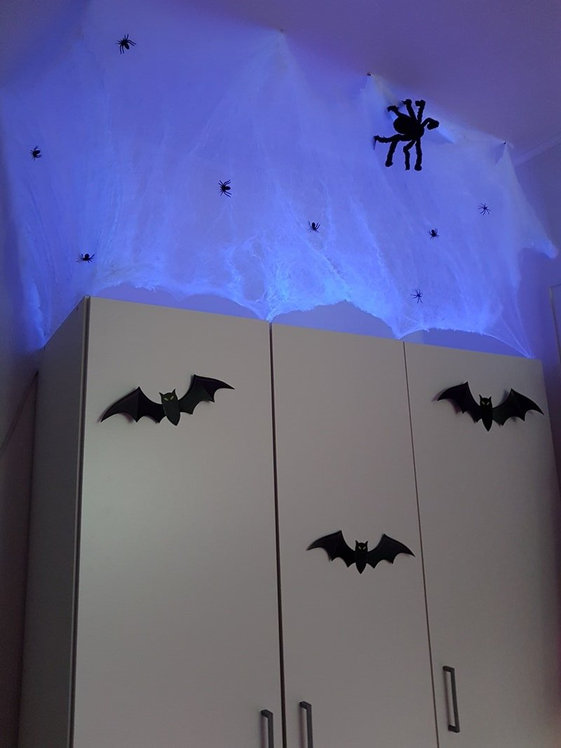 Kinder Halloweenparty Deko Spiele Ideen
