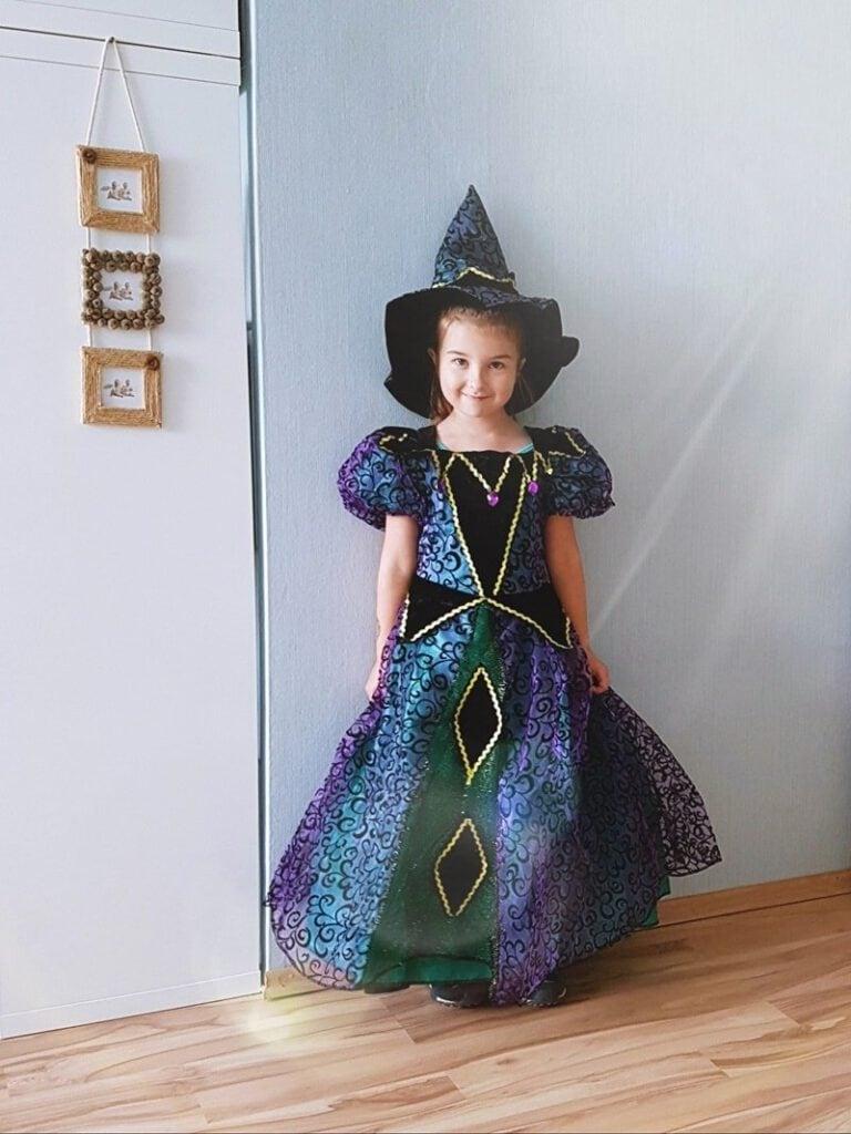 Hexenkostüm Kleinkind:Halloweenparty für Kinder