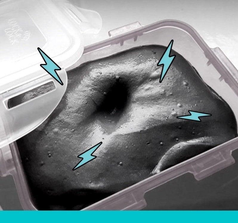 magnetischer schleim selber machen ohne borax anleitung. Black Bedroom Furniture Sets. Home Design Ideas