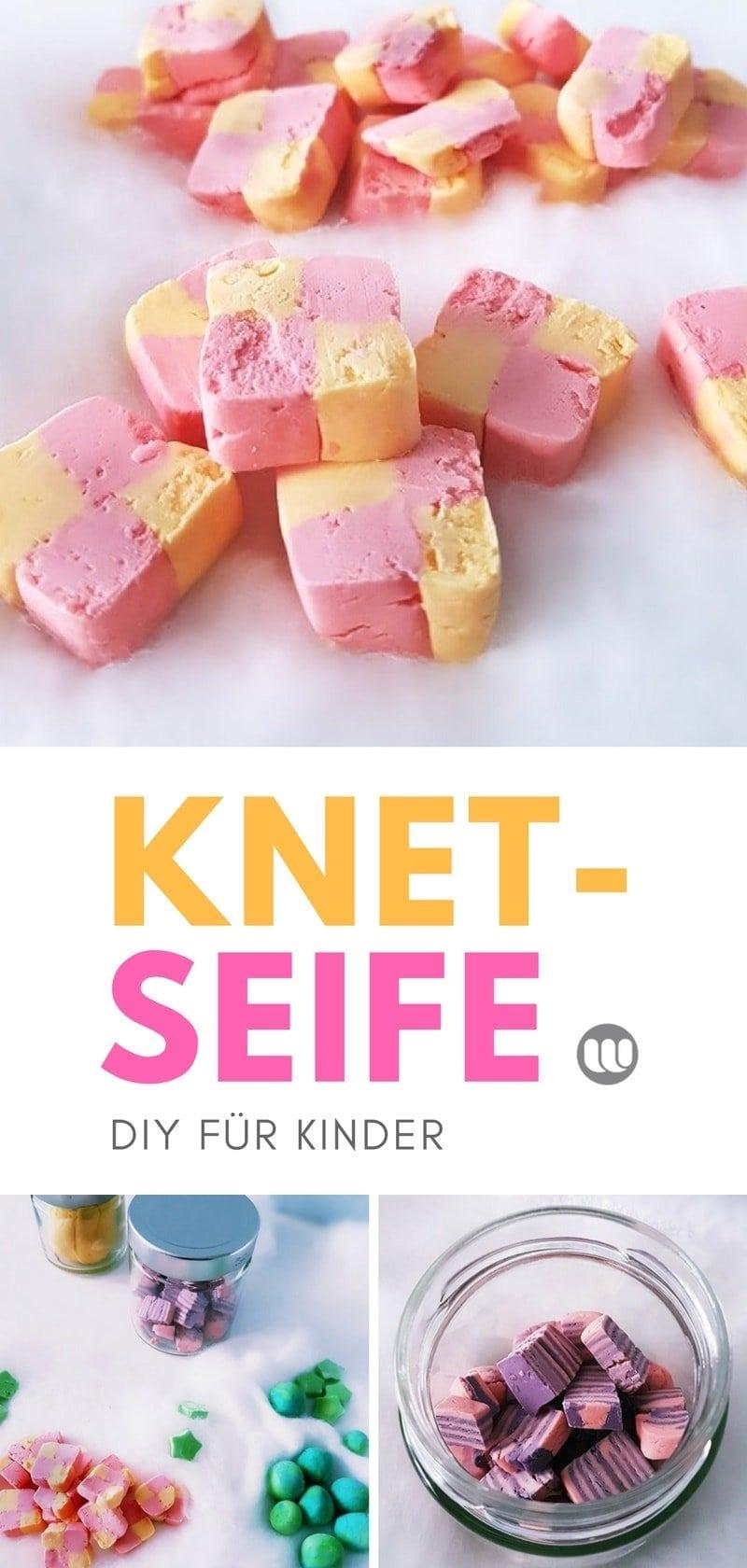 Kinder Knetseife selber machen - Anleitung: Knetbare Seife DIY Kosmetik