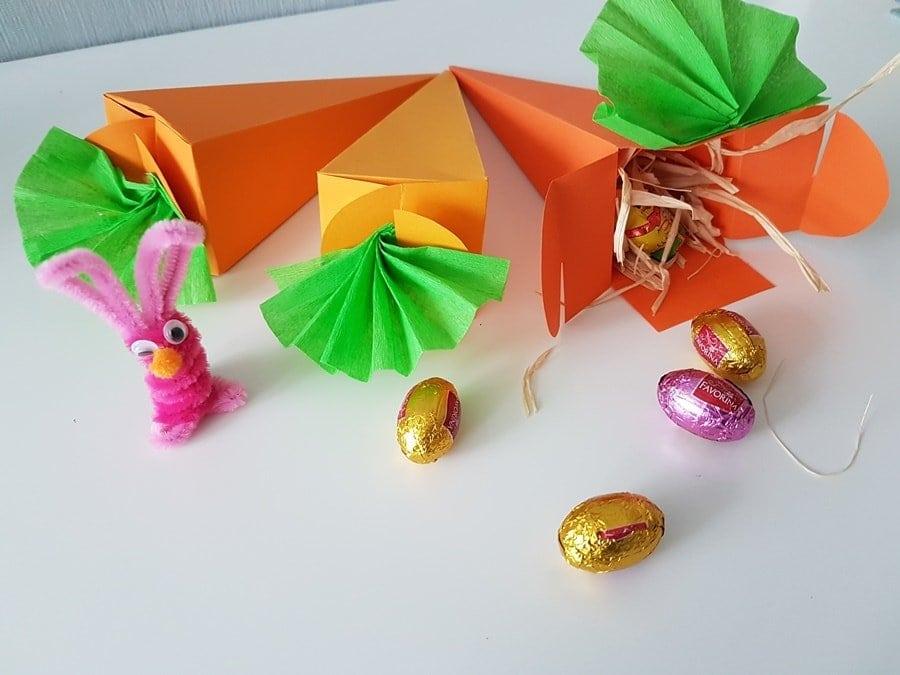 Karotten Geschenkverpackung Zu Ostern Basteln Inkl Vorlage