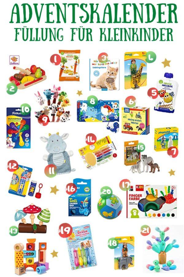 In diesem Artikel stellen wir die besten Adventskalender für Kleinkinder von 1-3 Jahre vor. + Adventskalender Füllideen für Kleinkinder ab 0 Jahre.