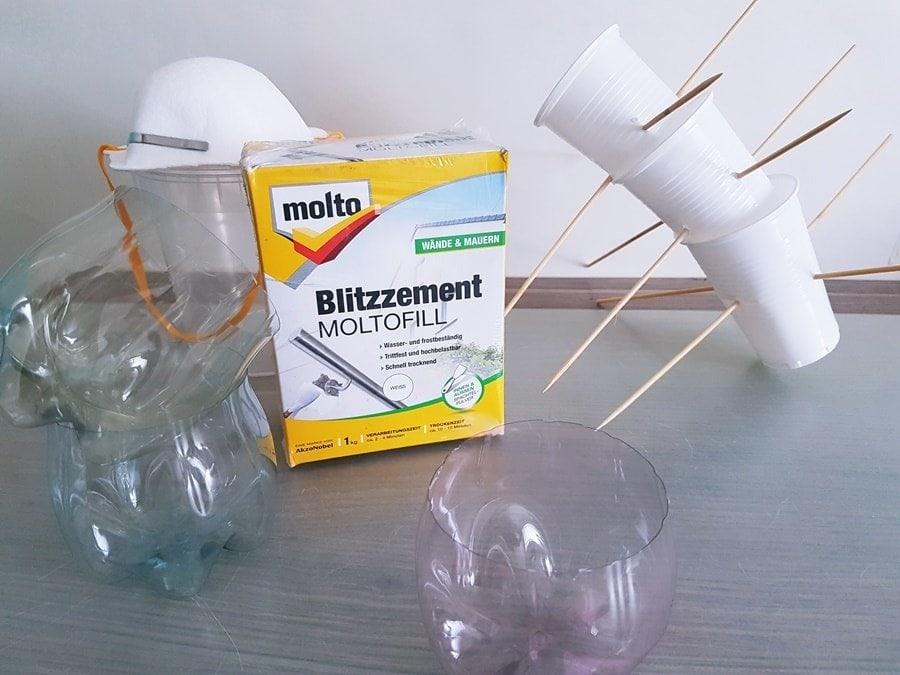 Anleitung DIY Deko Molto Blitzzement