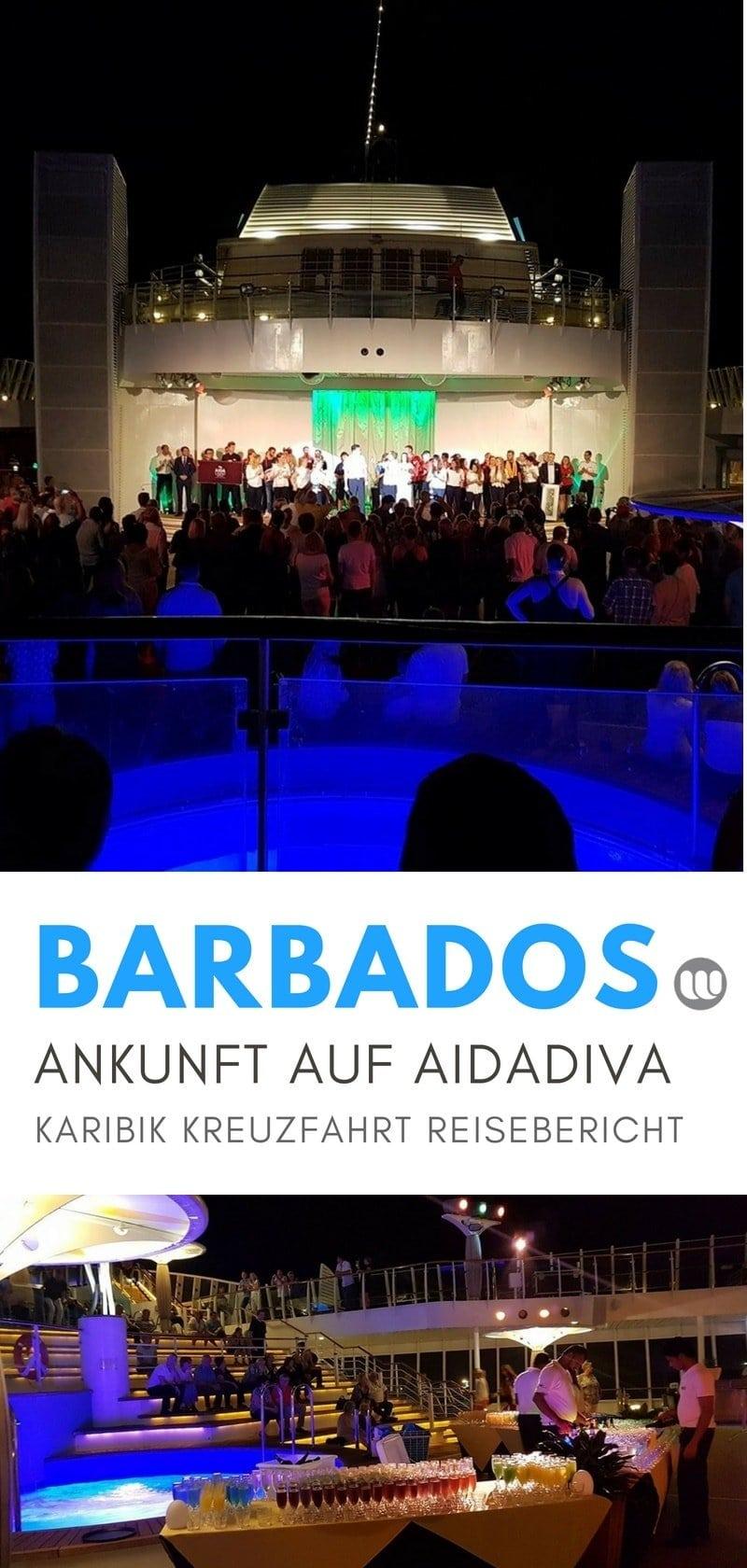 Ankunft in Barbados - Die Transatlantik Kreuzfahrt beginnt 29