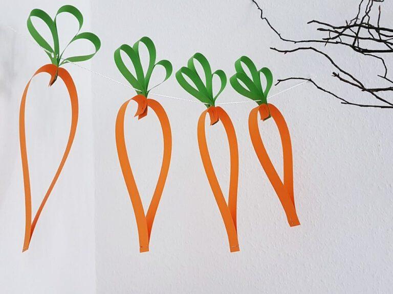 Karotten-Girlande