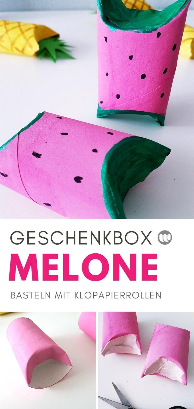 #Geschenkverpackung #Klopapierrolle #Wassermelone #Geschenkverpackung #Frucht #Geschenkbox #Kindergarten #KITA #Schule #Kinder #Kunst #DIY