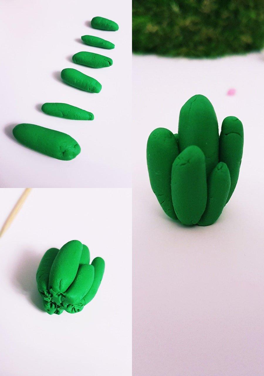 DIY Kaktus Formen