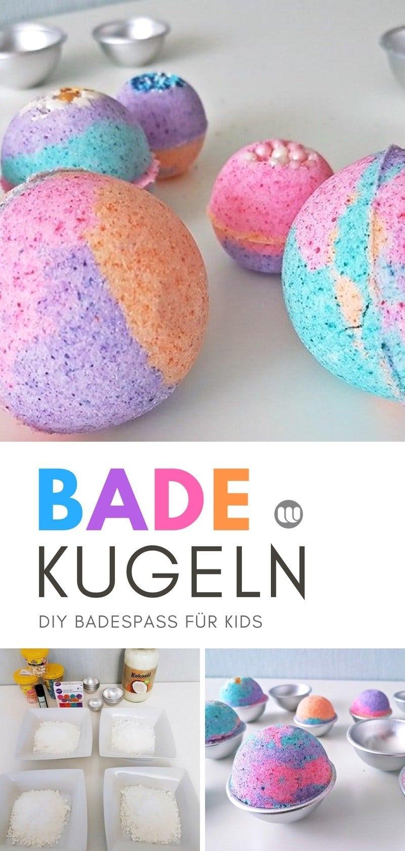 Anleitung Sprudelnde Bunte Badekugeln Für Kinder Herstellen