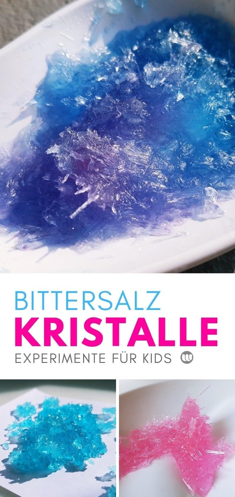 Experiment für Kinder: Kristalle züchten Anleitung