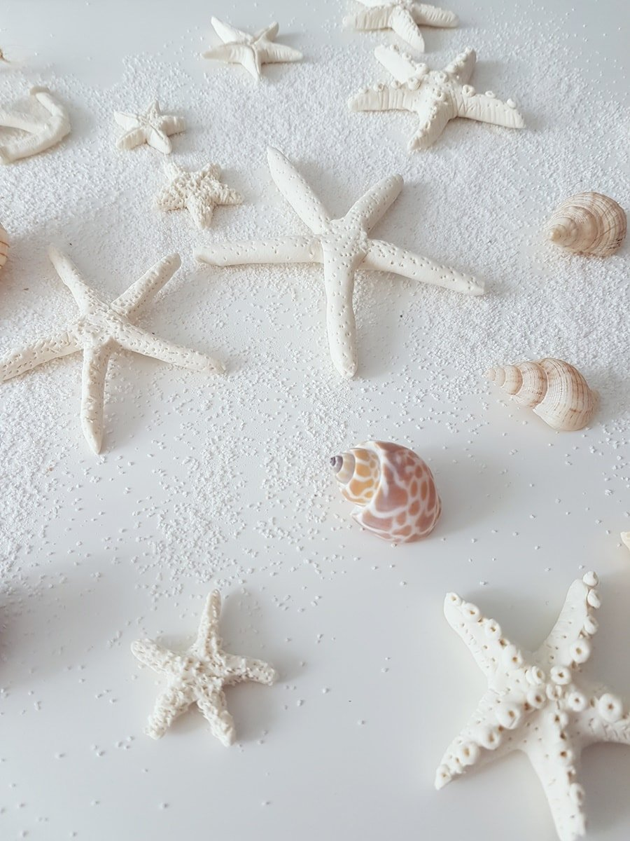 DIY Seesterne aus Salzteig basteln: Maritime Deko selber machen