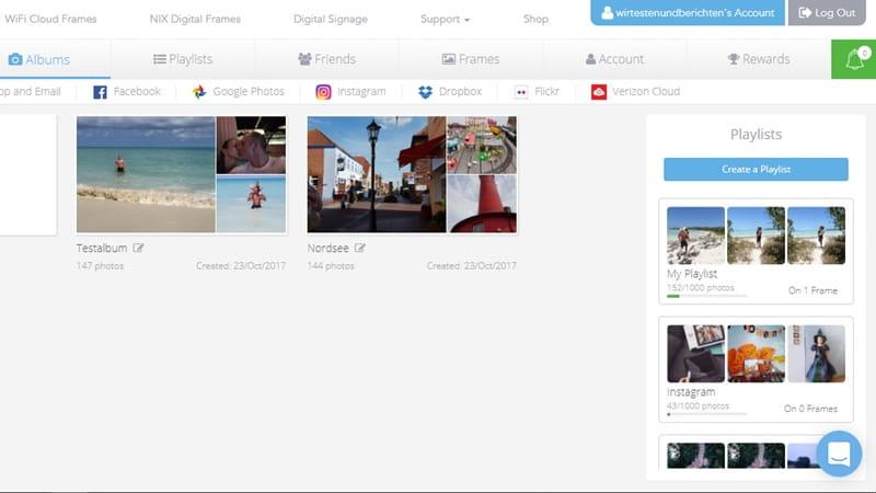 Nixplay Seed: Digitaler Bilderrahmen als Geschenk für Oma & Opa 2
