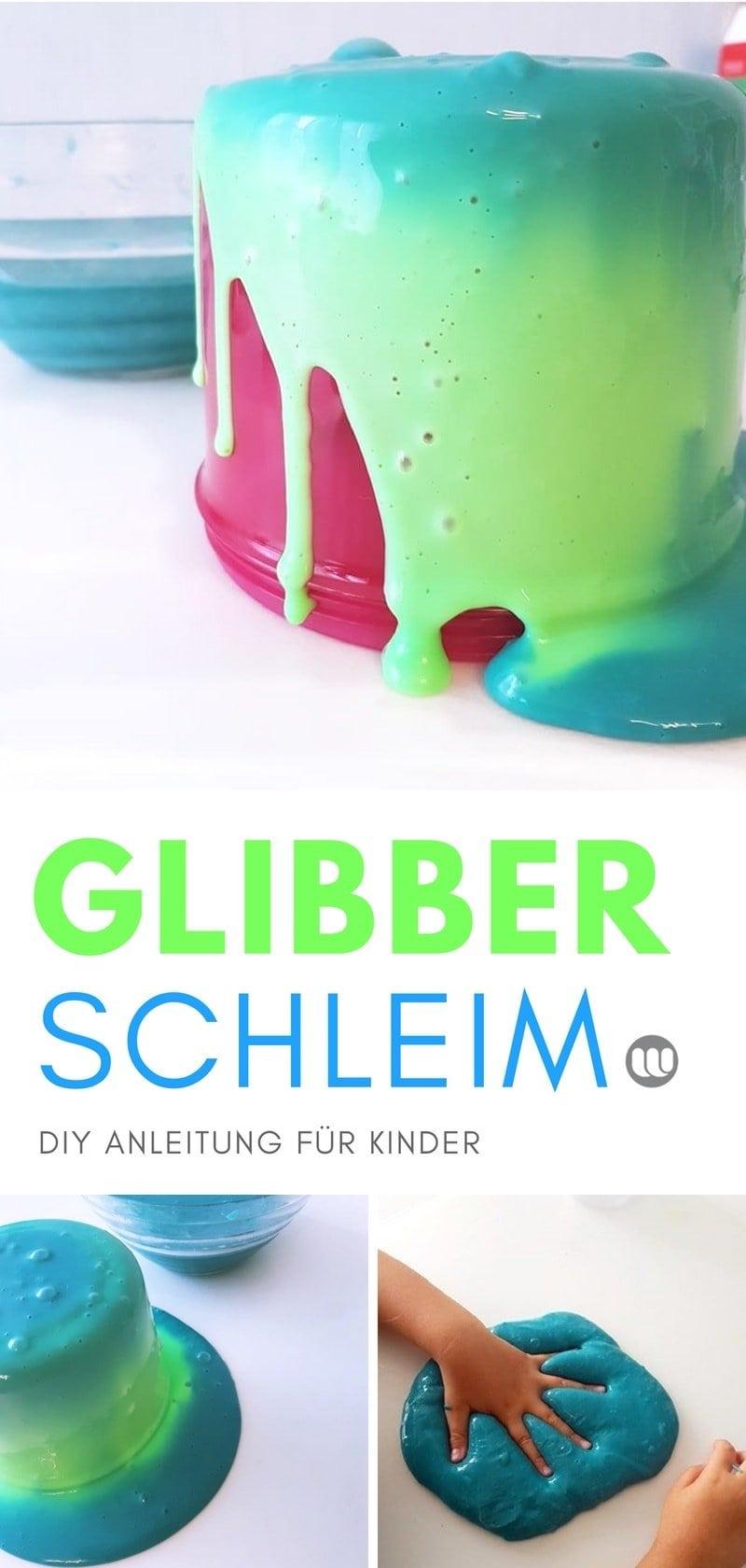 DIY Farbwechsel Schleim: Anleitung für selbstgemachten Slime der die Farbe wechselt