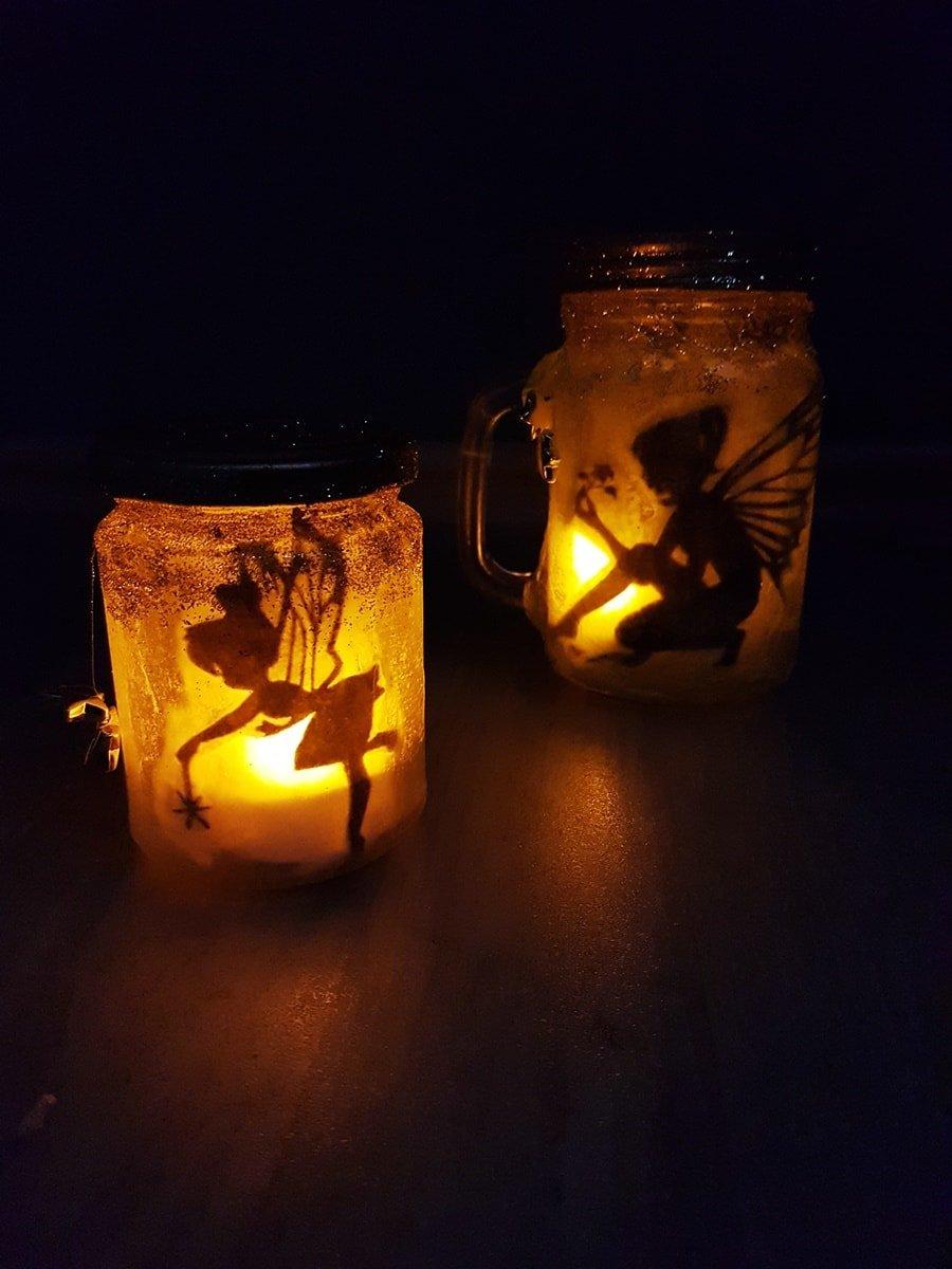 Feenlaterne: Magische Geschenkidee zum Selbermachen