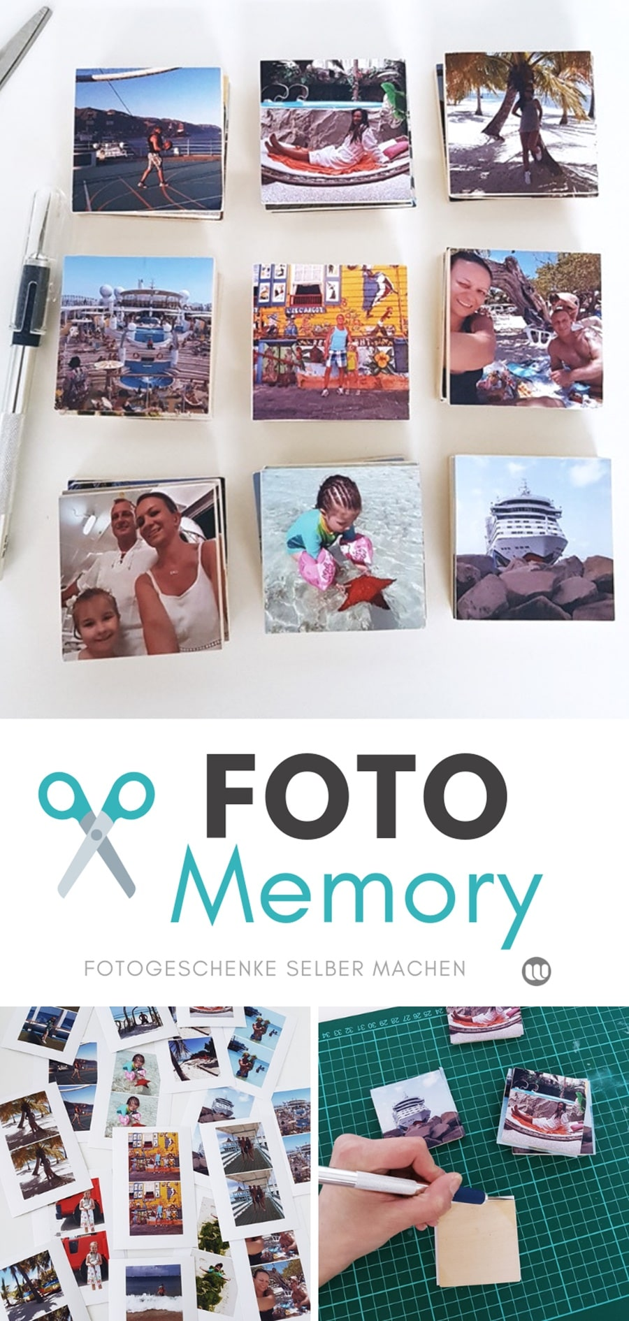 Foto-Memory selbst gestalten: So wirds gemacht
