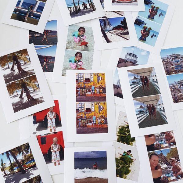 Memory basteln: Geschenkidee mit Fotos