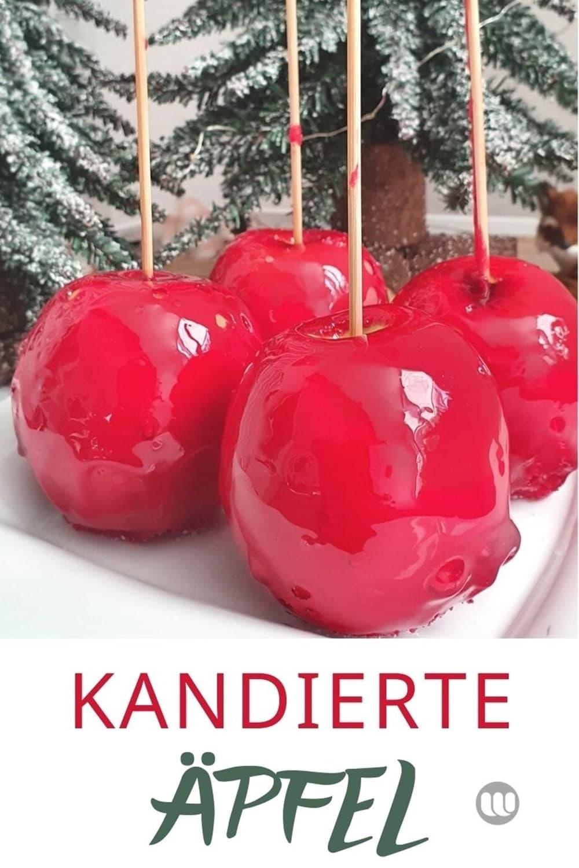 Kandierte Äpfel Rezept: Wie man kandierte Äpfel, Patradiesäpfel selber macht