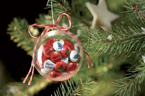 Personalisierte Schokolinsen als unvergleichliches Weihnachtsgeschenk 2