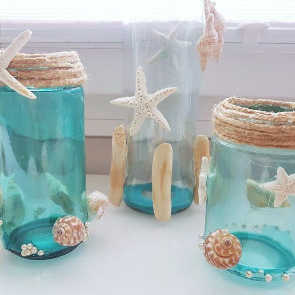 Glas färben: DIY Anleitung Flaschen bunt färben