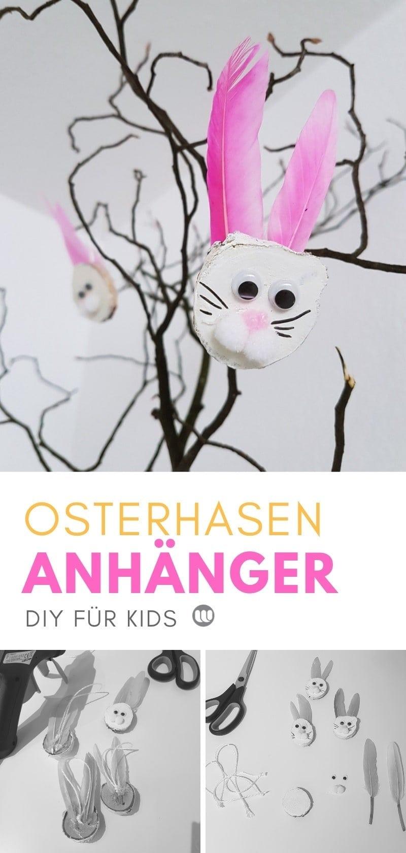 Osterstimmung mit niedlichen Hasen Osteranhänger aus Holz: Wie man die Anhänger bastelt, zeigen wir Schritt für Schritt in unserer Bastelanleitung.