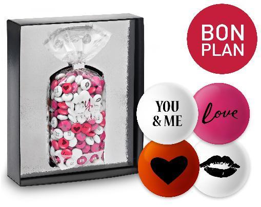 Valentinstag Geschenk Partner M&M © My M&M´s
