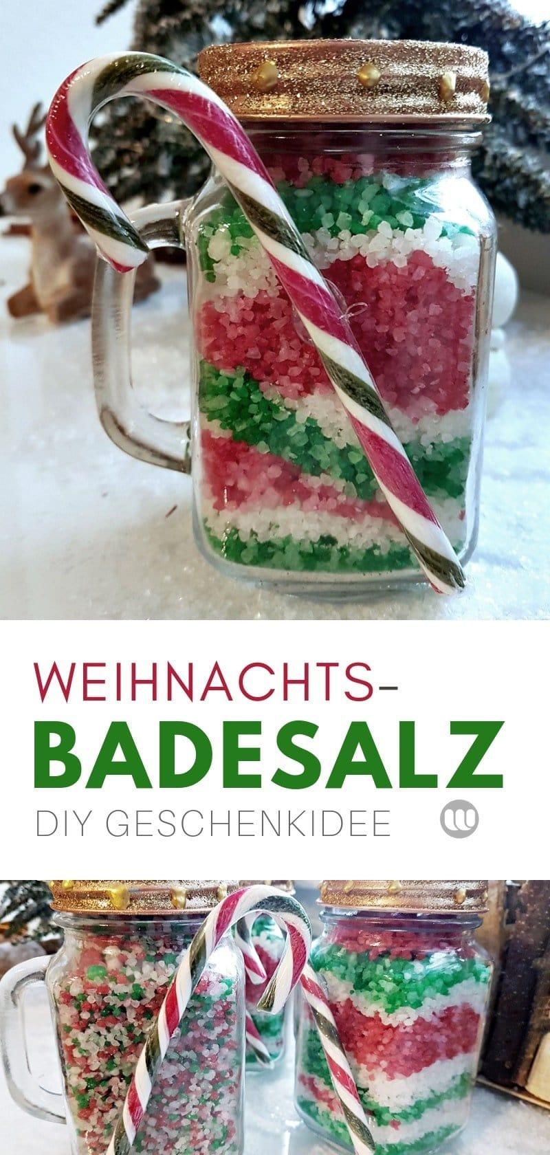 DIY Badesalz Rezept Anleitung