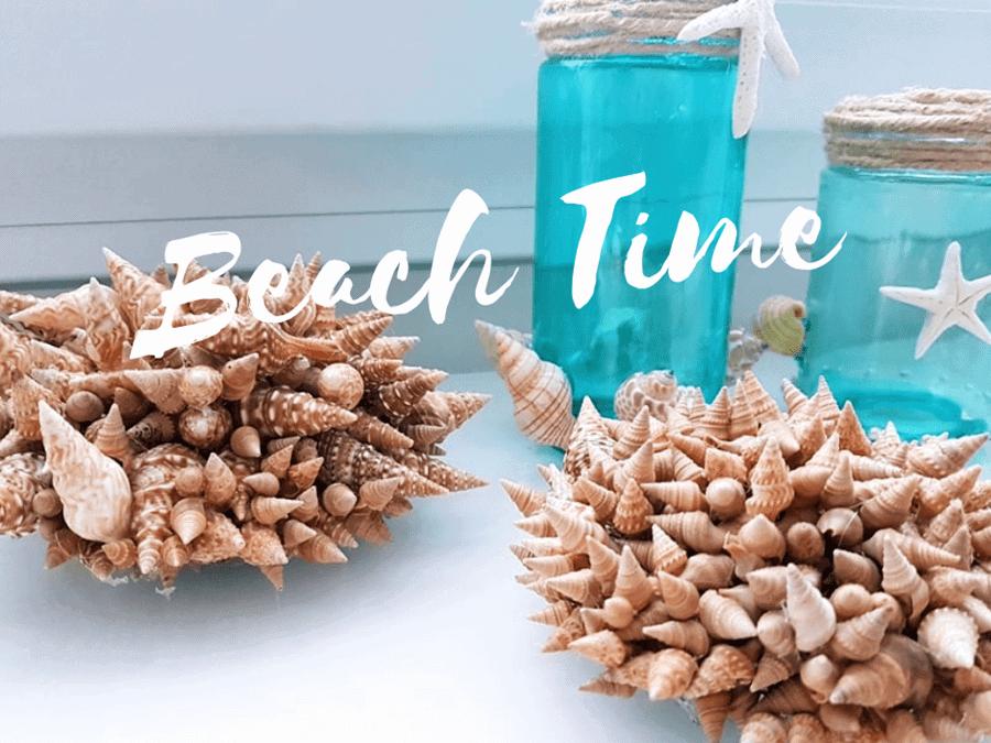 Anleitung für selbstgemachte Meeresdeko aus Muscheln