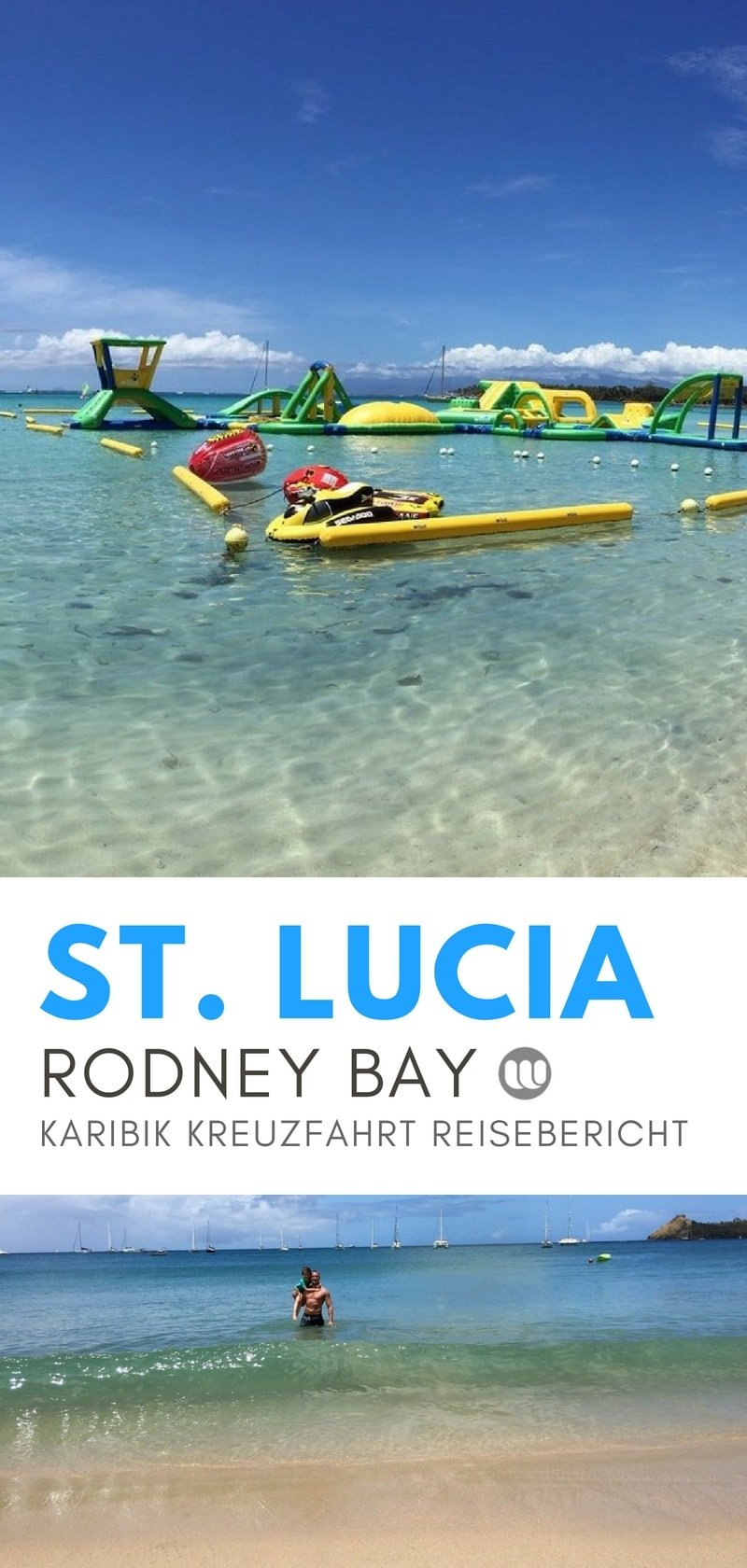AIDAdiva Reisetagebuch St. Lucia: Ausflug zum Rodney Bay