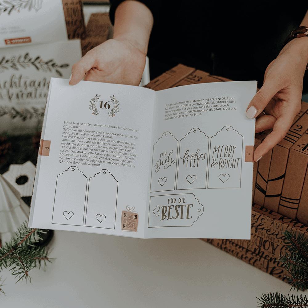 Der kreative und achtsame Stabilo Adventskalender – unser Tipp für deine Vorweihnachtszeit 20