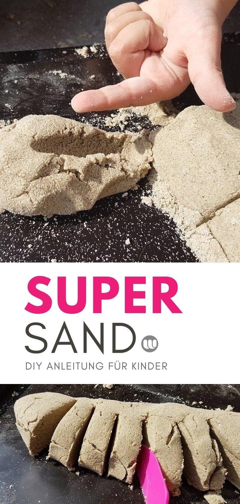 Supersand Kineticsand selber machen