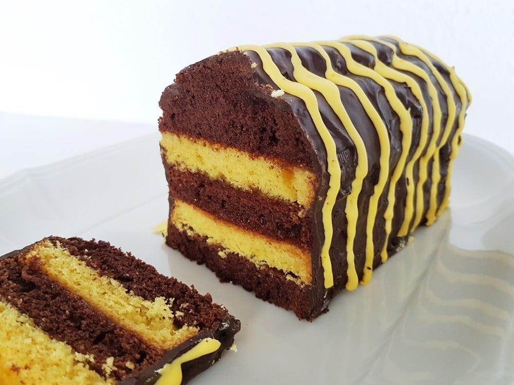 Tigerenten-Kuchen für die Janosch Lesenacht in der Schule 48