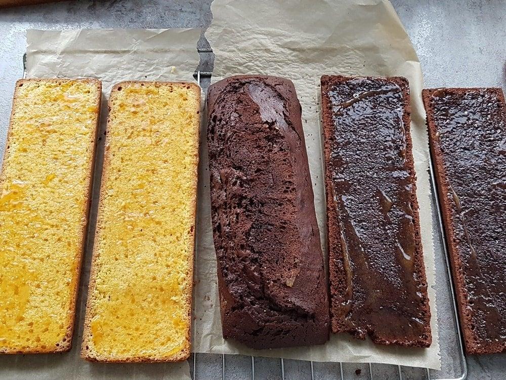 Tigerenten-Kuchen für die Janosch Lesenacht in der Schule 51