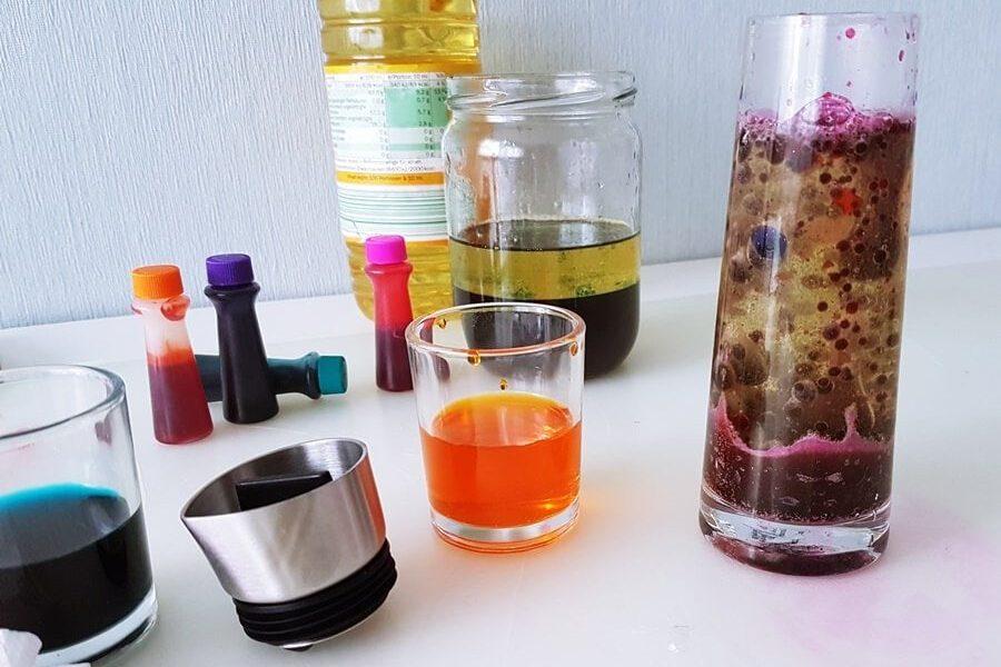 Wasser Experimente für Kinder