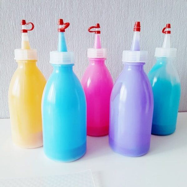 Kinder DIY: Fensterfarbe Window Color selber machen